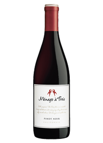 Menage A Trois Pinot Noir 2015 750ml - Case of 15